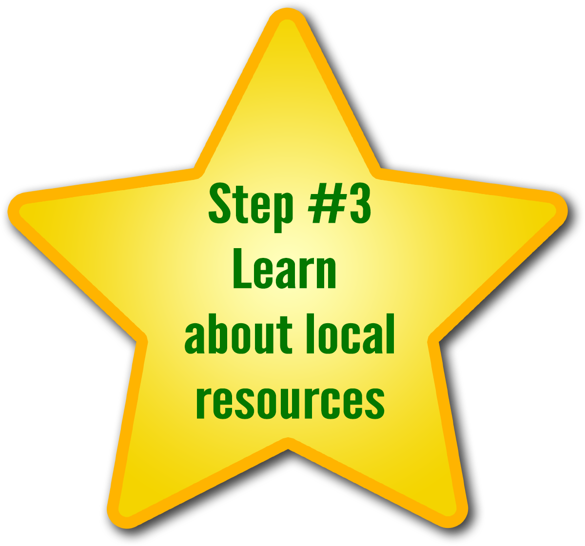Step 3 - Learn about local resources